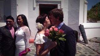 Valentine's Day wedding on Robben Island