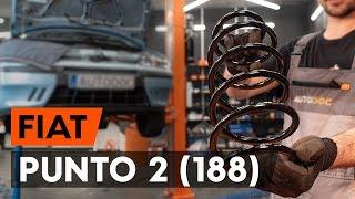 Montavimo Ašies montavimas FIAT PUNTO: vaizdo pamokomis