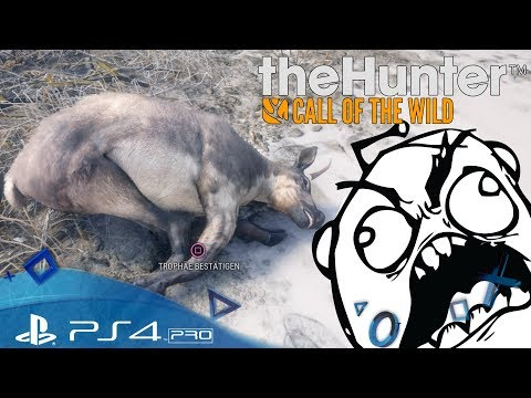 TheHunter: Call of the Wild PS4 🇩🇪 Günter dreht durch - Let´s Play TheHunter PlayStation 4 Deutsch