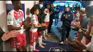 Haie d'honneur GFA Rumilly - AS Monaco