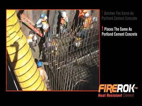 FIREROK Cement For Thermal Resistant Concrete