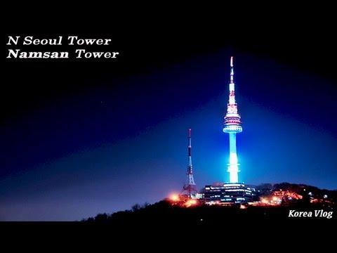 N SEOUL TOWER - 남산타워 (eng sub) [HD]