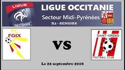 R2  -  FC Foix contre St Orens FC