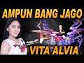 Vita Alvia - Ampun Bang Jago - Drum Cover Prabu Alif