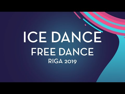 Maria Golubtsova / Kirill Belobrov (UKR)| Ice Dance Free Dance | Riga 2019