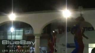 LA HUERTA JALISCO  Ayuntamiento presenta show  HOTEL BLUE BAY