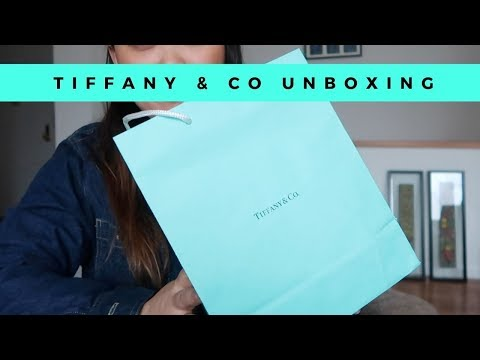 TIFFANY & CO JEWELRY UNBOXING