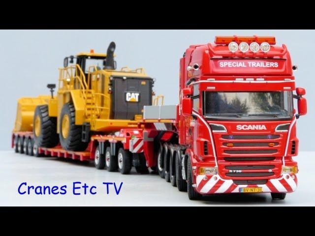 WSI Scania R6 Topline + Nooteboom 3+5 Euro-PX Trailer by Cranes Etc TV