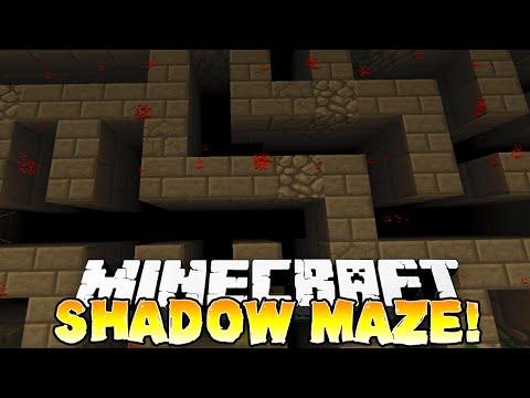 Minecraft - SHADOW MAZE PVP! #1