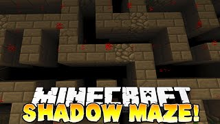 "Minecraft - SHADOW MAZE PVP! #1 ""EPIC"" - w/ THE PACK!"