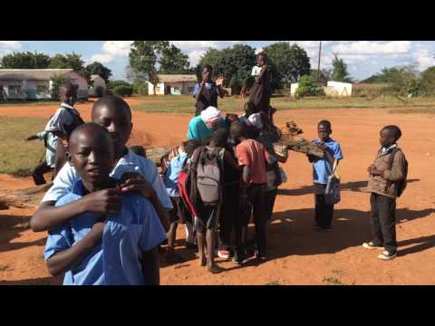 Zambia, Africa's National Anthem at Bimbe Primary School, Chongwe