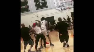 Fight Broke Out In The Drew League