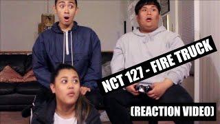 nct 127 fire truck 소방차    reaction video