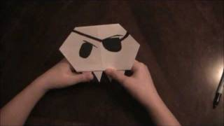 How To Make An Origami Skull