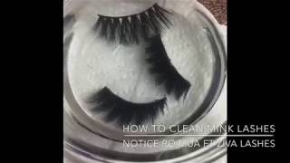 How to Clean Your Silk or Mink Lashes