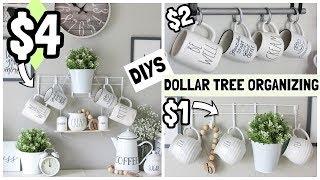 $1-$4 DOLLAR TREE ORGANIZER DIYS