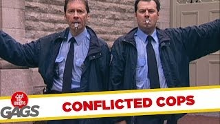 Conflicting police officers