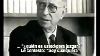 Entrevista a Jean-Paul Sartre