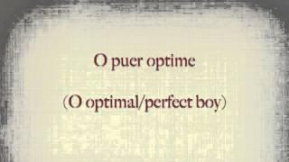 In Dulci Jubilo (Latin Pronunciation)