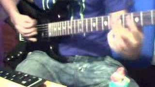 billy talent guitar cover this is how it goes