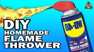 DIY Flame Thrower - 5 Minute Craps #3