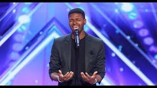 Johnny Manuel [Legendado PT-BR] Got Talent - Participante impressiona jurados cantando Whitney.