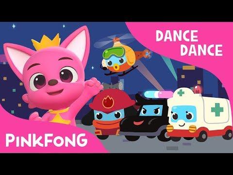 Super Rescue Team   Dance Dance Pinkfong   Pinkfong Songs for Children