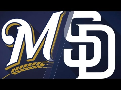 5/18/17: Sogard's three RBIs lead Brewers past Padres