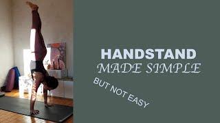 Handstand tutorial