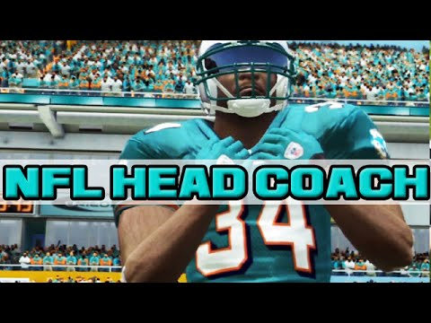 NFL Head Coach 09  SHOWBOATING TED GINN!  Dolphins vs Jaguars  YouTube