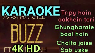BUZZ HD KARAOKE WITH LYRICS | Badshah | Aastha Gill