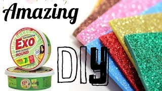 Best Out Of Waste| Empty Exo Diswash Box&Foam Sheet Handmade Kid's Summer Craft Tutorial ideas|