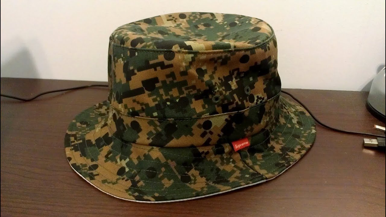 supreme x comme des gar231ons shirt olive camo crusher