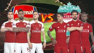 Arsenal vs Liverpool   Premier League 2018/19   Gameplays PC