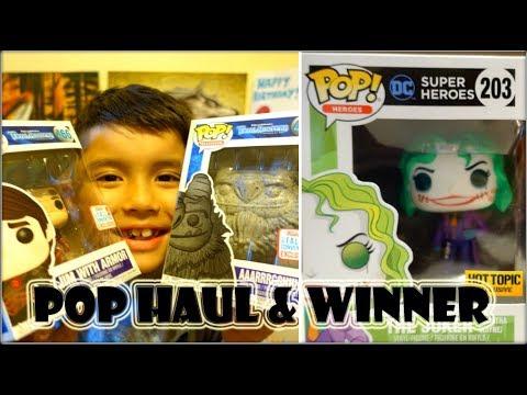 Funko Pop Haul & The Joker: Martha Wayne Winner