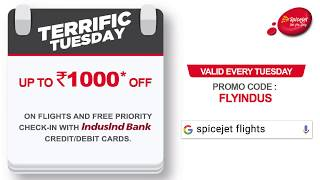 SpiceJet - Terrific Tuesday Offer!