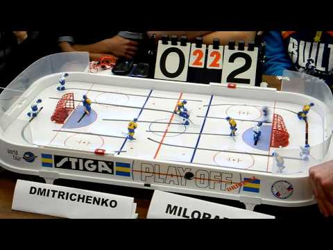 Table Hockey. Настольный хоккей. Moscow Open 2013. Dmitrichenko-Miloradov. Final. Game 5