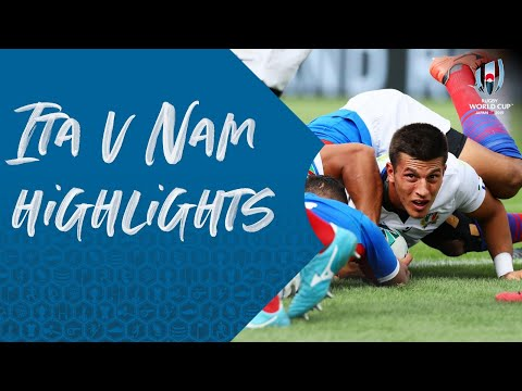 HIGHLIGHTS: Italy v Namibia - Rugby World Cup 2019