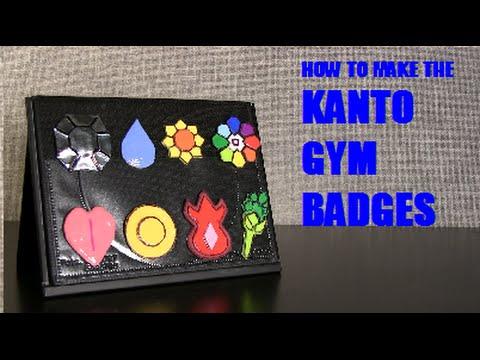 How to make the Kanto Gym Badges
