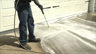 How To Pressure Wash Your Driveway: Zep Commercial Driveway & Concrete Concentrate