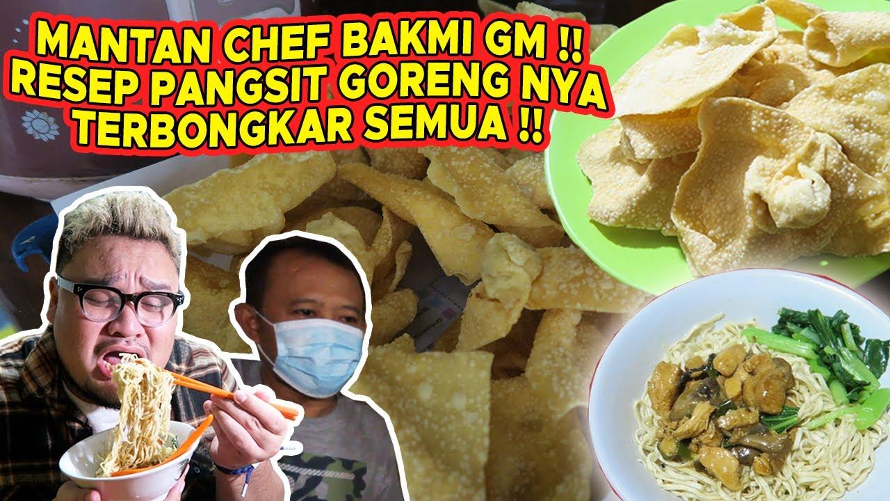 AKHIRNYA RESEP PANGSIT GORENG BAKMI GM DI BONGKAR!!