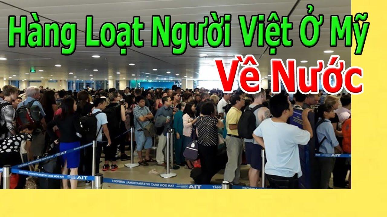 Hàng Loạt Người Việt Ở Mỹ Về Nước