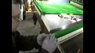 видео Ткань для бильярдного стола