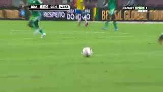Le penalty de sadio mane vs brasil