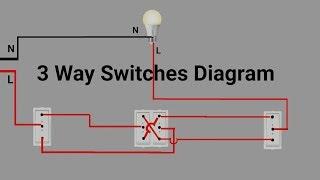 3 Way Switches Wiring Digram