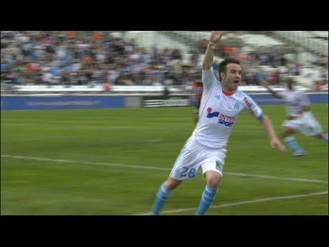 Goal Mathieu VALBUENA (68') - Olympique de Marseille - OGC Nice (2-2) / 2012-13