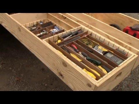 Unique Contractor Truck Storage Solutions Youtube