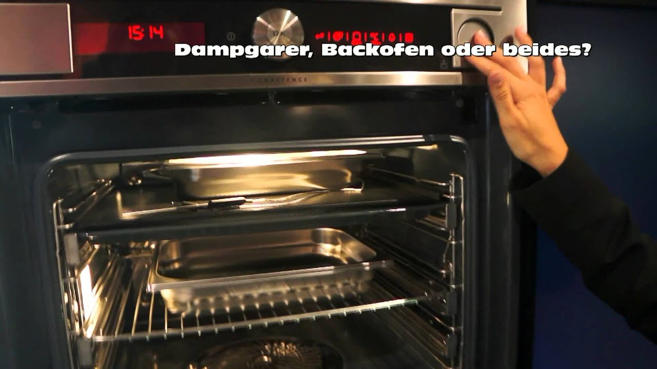aeg expertentipp dampfgarer backofen oder beides youtube. Black Bedroom Furniture Sets. Home Design Ideas