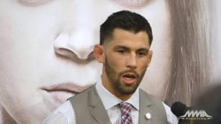 Dominick Cruz UFC 207 Media Day Scrum