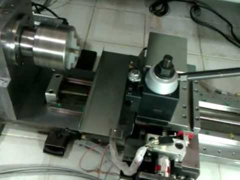 diy mini cnc lathe youtube Wood Lathe diy mini cnc lathe